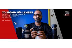 Ram Balmur on Shooting Landscape Photos with 70-200mm f/4 Lenses