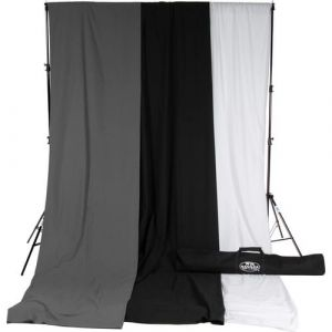 Backdrop Set with Stand 6ftx10ft