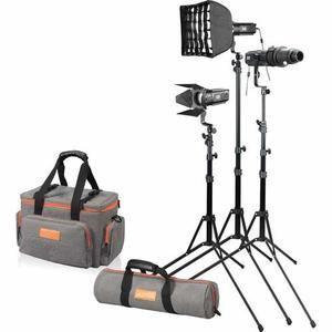 Godox S30-D Light Kit of 3 x S-30 Lights