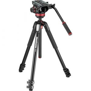 Manfrotto MT055XPro3 Tripod with Fluid Head