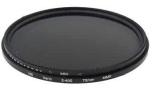 72mm Variable ND Filter 2-400