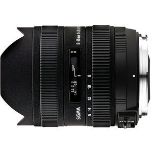 Sigma 8-16mm f/4.5-5.6 DC for Canon