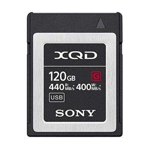 Sony G Series 120GB W400MB/s XQD Card