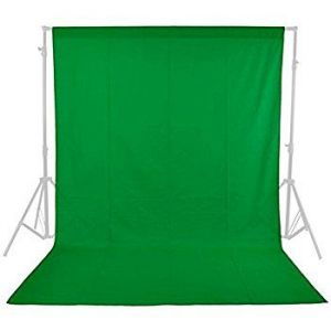 Backdrop Set with Stand 6ftx10ft RGB