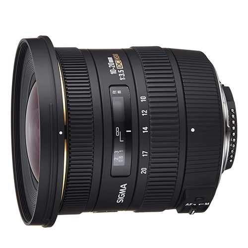 Sigma 10-20mm f/3.5 DC HSM for Canon for sale