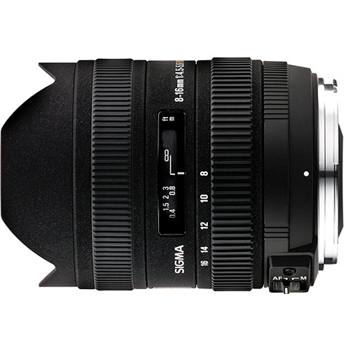 Sigma 8-16mm f/4.5-5.6 DC for Canon for sale